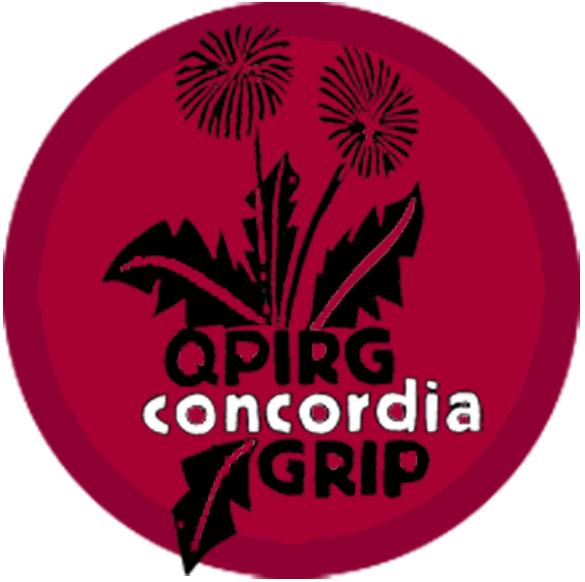 Logo de l'organisme QPIRG Concordia GRIP