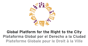 Logo de l'organisme Global Platform for the Right to the City