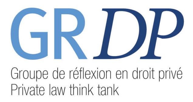 Logo de l'organisme Groupe de réflexion en droit privé