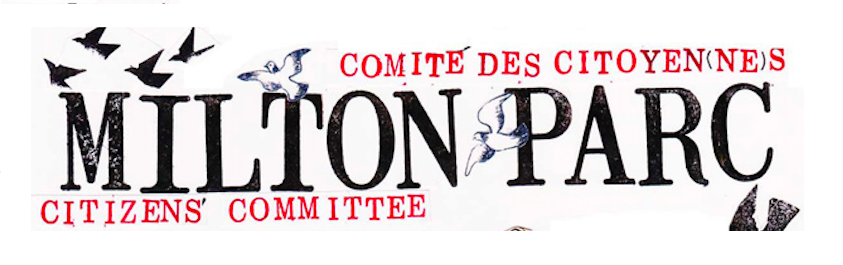 Logo de l'organisme Comité des citoyens de Milton Parc