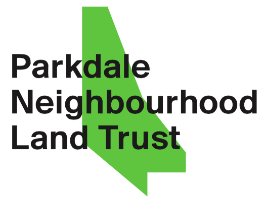 Logo de l'organisme Parkdale Neighbourhood Land Trust